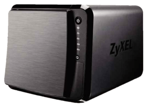 The Zyxel NAS540 Review is a very stylish NAS drive