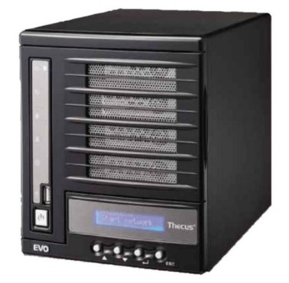 There s a fair amount wrong with the Thecus N4100EVO - the a noise levels in particular