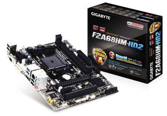 Gigabyte F2A68HM-HD2 Review