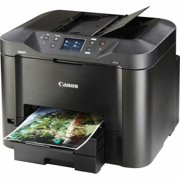 Canon maxify mb5350 a4 inkjet printer for Best home office inkjet printer 2015