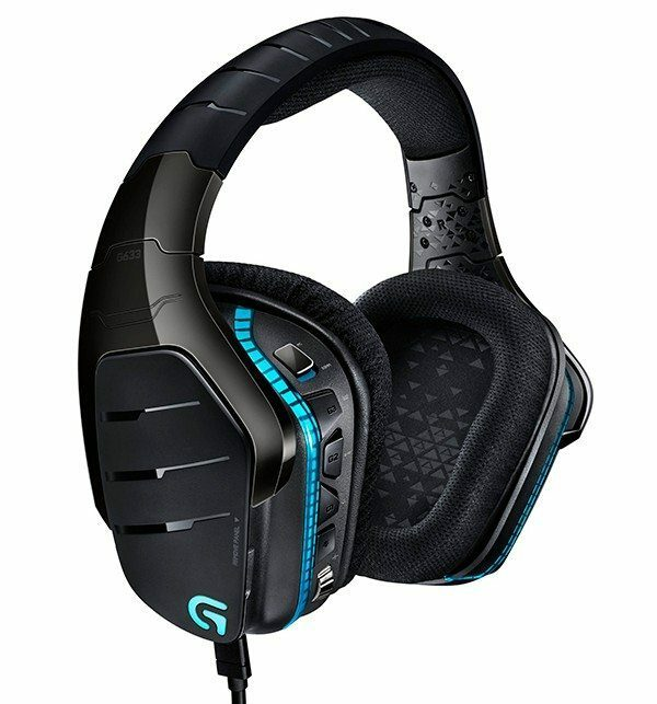 Logitech G633 and G933 headphones