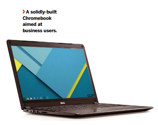 A solidly-built Chromebook aimed at business users.