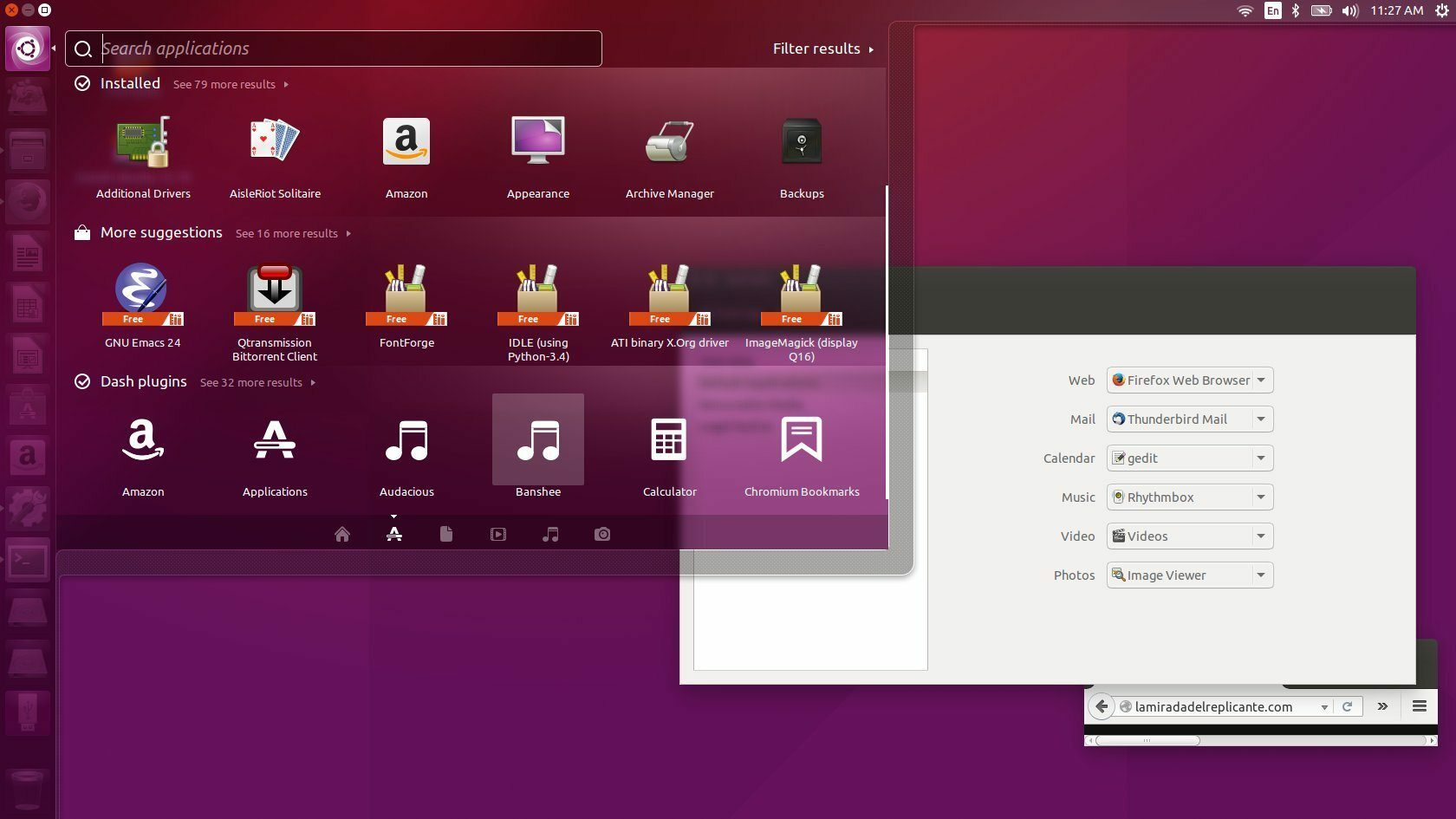 Ubuntu full screenshot