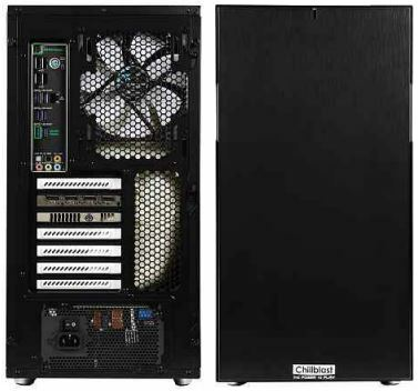 BELOW The Fractal Design Define R5 chassis is a great choice for a workstation