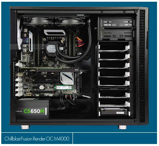 Chillblast Fusion Render 0C M4000 Review