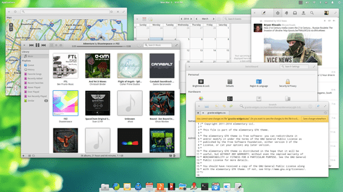 Freya looks beautiful, runs well on older hardware and offers access to Ubuntu's repositories.