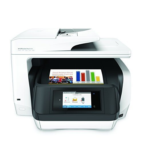 Hp officejet pro 8720 review a fast inkjet for a home office for Best home office multifunction printers