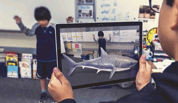 There's a new Mixed Reality Viewer, but we can't get as excited about it as this young man