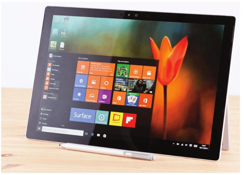 Microsoft Surface Pro 4 second