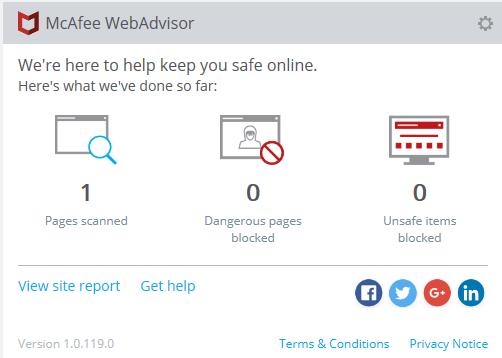 Mcafee Webadvisor Kokemuksia
