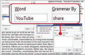 Tell LibreOffice's spell-checker the meaning of any new words