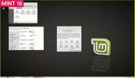 Above Options for high resolution displays are limited in Linux Mint 18, with clear disparity between different aspects