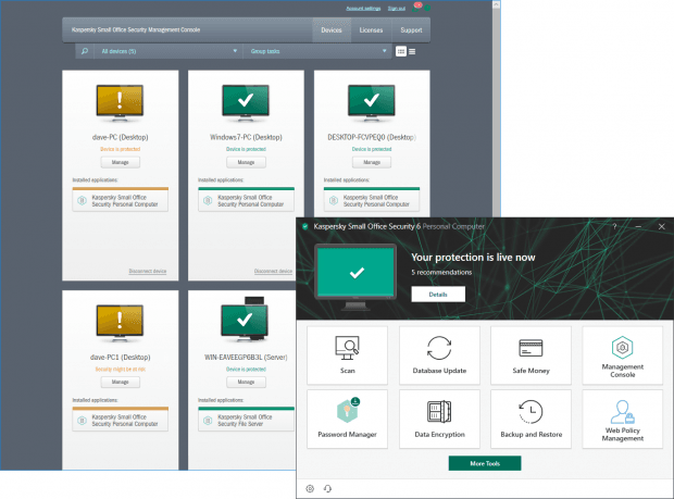 Kaspersky Small Office Security 6 Review