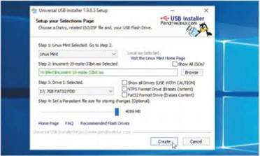 Add persistence to your live USB flash drive if you want to retain changes after rebooting.