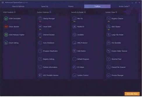iobit advanced systemcare free mac