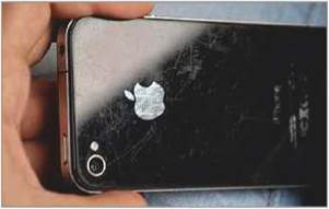 Wear and tear are to be expected on a second-hand phone, but make sure areas such as the camera lens aren't badly damaged