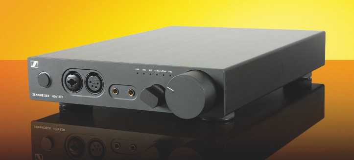 Sennheiser's HDV 820 amp (HFC 429) is the perfect partner to get the best from the HD 820