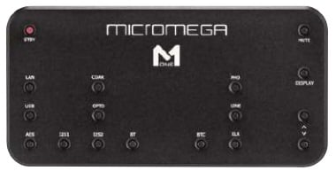 Micromega's remote handset has an excel- lent range and is machined from a solid block of aluminium. The buttons are tiny and can't access certain functions - setup- related ones, for example. They are at least labelled, though. An alternative is Micromega's free M-One app for Android or iOS - you'll need a smartphone with DLNA app, if you want to try the M-One 150's worthwhile network playback.