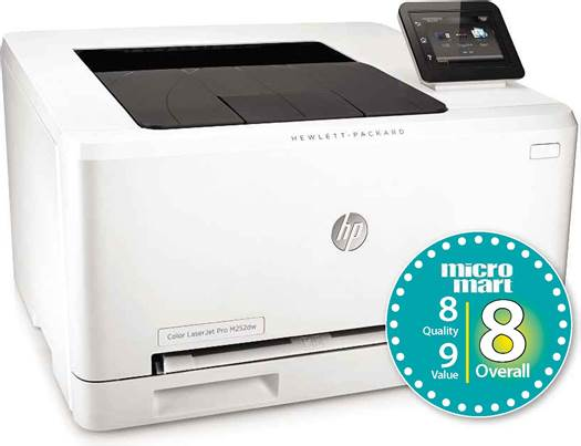 The HP ColourLaserJet Pro M252dw is a really good laser printer