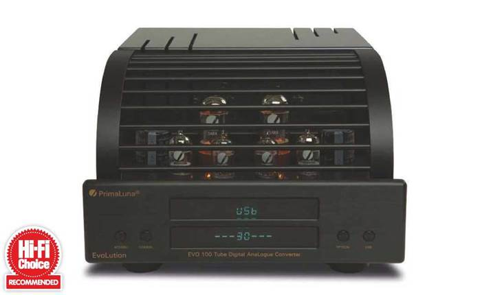 PrimaLuna EvoLution 100 Tube Digital AnaLogue Converter Review