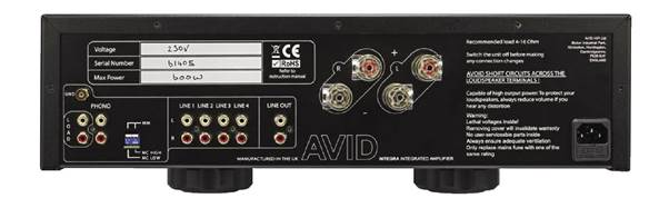 AVID INTEGRA Review