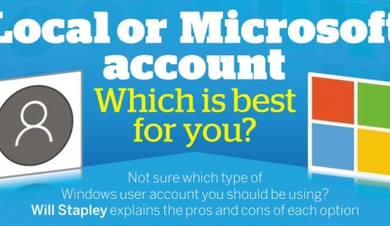 Local or Microsoft account – Which is best for you?