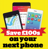 Save £100 on your next phone