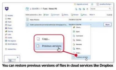 NEVER LOSE YOUR FILES!
