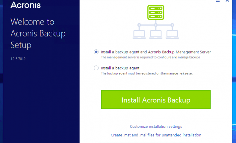 Acronis Backup 12.5 Review: A huge platform support and built-in ransomware protection
