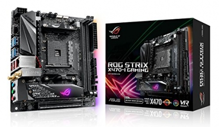 Asus ROG Strix X470-i Gaming Review