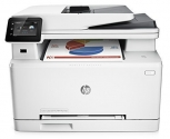 HP M277DW: A small and well-designed color printer, also scans, makes copies, sends faxes