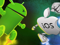 iOS vs ANDROID: A BATTLE THAT'S FAR FROM OVER