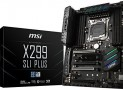 MSI X299 SLI Plus Review