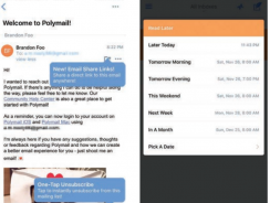 Polymail – Tackle multiple email accounts on iOS