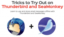 SeaMonkey Review: Tricks to Try Out on Thunderbird and SeaMonkey