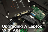 Upgrading a laptop with an ssd