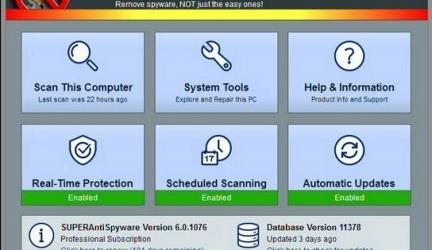 SUPERAntiSpyware 6 Review